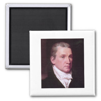 James Monroe 2 Inch Square Magnet