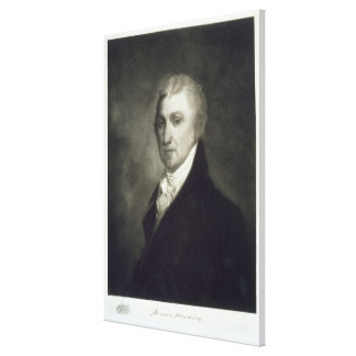 James Monroe, 5th President of the United States o Canvas Print