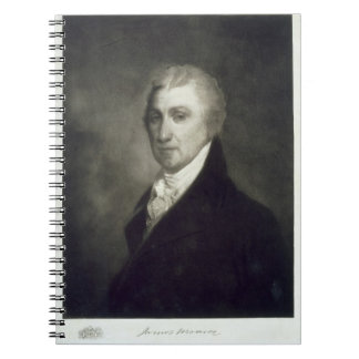 James Monroe, 5th President of the United States o Notebook