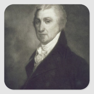 James Monroe, 5th President of the United States o Square Sticker