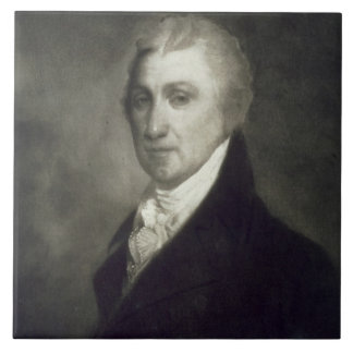 James Monroe, 5to Presidente de los Estados Unidos Azulejo Cuadrado Grande