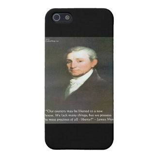 James Monroe American Liberty Wisdom Quote Gifts Case For iPhone SE/5/5s