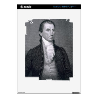 James Monroe, engraved by Asher Brown Durand (1796 iPad 3 Decal