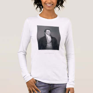 James Monroe, engraved by Asher Brown Durand (1796 Long Sleeve T-Shirt