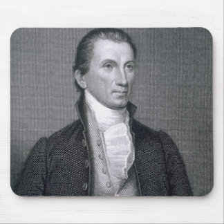 James Monroe, engraved by Asher Brown Durand (1796 Mouse Pad