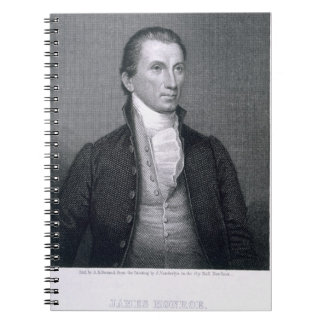 James Monroe, engraved by Asher Brown Durand (1796 Notebook
