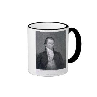 James Monroe, engraved by Asher Brown Durand (1796 Ringer Mug