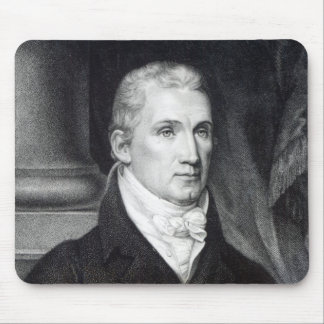 James Monroe, engraved by Thomas Gimbrede Mouse Pad