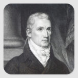 James Monroe, engraved by Thomas Gimbrede Stickers