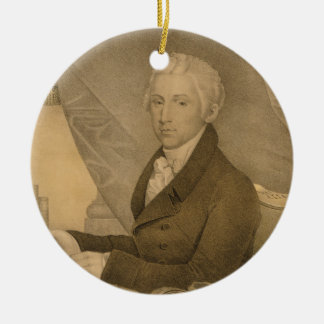 James Monroe Fifth President of the United States Ceramic Ornament