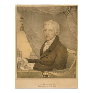 James Monroe Fifth President of the United States Personalized Invitations