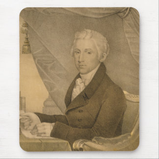 James Monroe Fifth President of the United States Mouse Pad