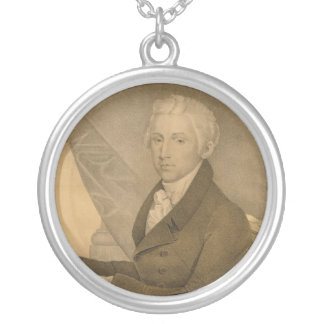 James Monroe Fifth President of the United States Round Pendant Necklace