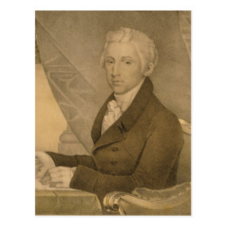 James Monroe Fifth President of the United States Postcard