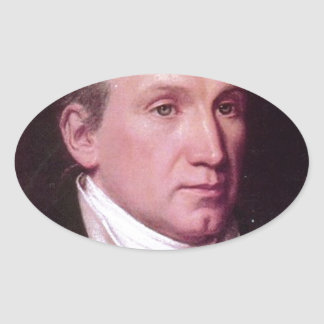 James Monroe Oval Sticker
