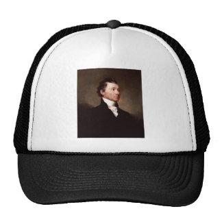 James Monroe Portrait by Samuel Morse Mesh Hats
