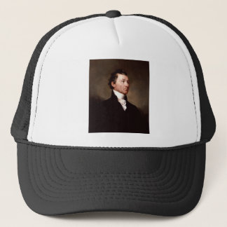 James Monroe Portrait by Samuel Morse Trucker Hat