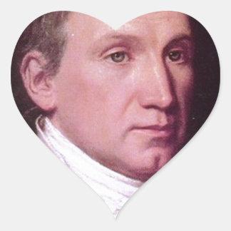 James Monroe Heart Sticker