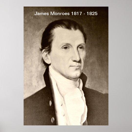 James Monroes  Print
