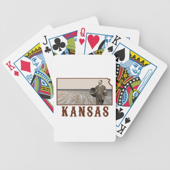 James Naismith Basketball Bicycle Playing Cards