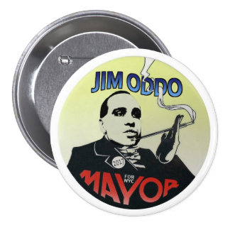 James Oddo for Mayor of New York City in 2017 Buttons