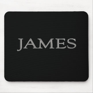 James Personalized Name Mouse Pad