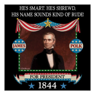 James Polk Campaign Poster