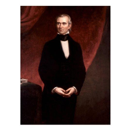 James Polk Postcard