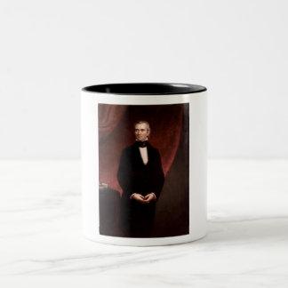 James Polk Two-Tone Coffee Mug