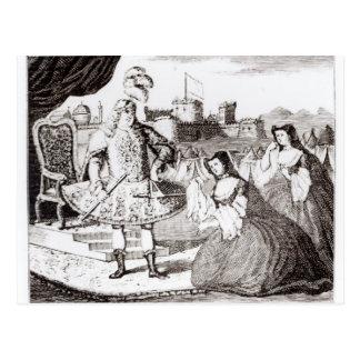 James Quin como Coriolanus Tarjetas Postales
