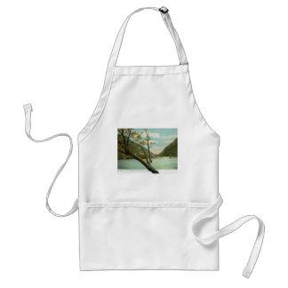 James River, Blue Ridge Mountains, VA Vintage Adult Apron