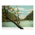 James River, Blue Ridge Mountains, vintage del VA Postal