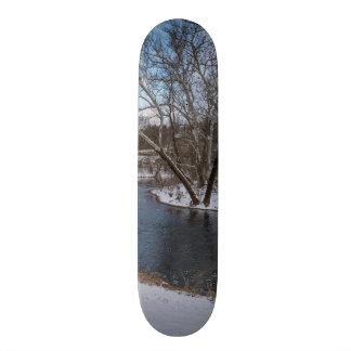 James River Cuts Back Skateboard Deck