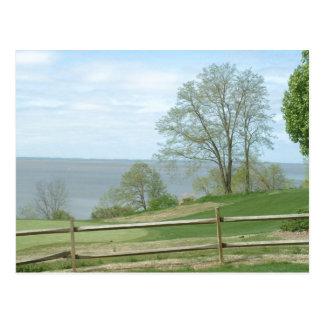 James River, Virginia, USA - postcard