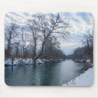 James River Winter Mouse Pad