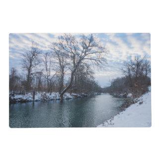 James River Winter Placemat