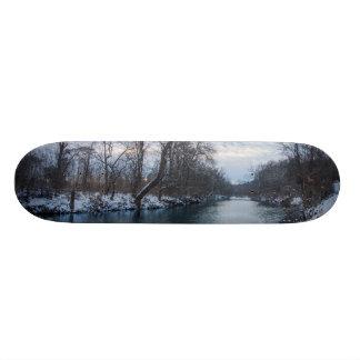 James River Winter Skateboard