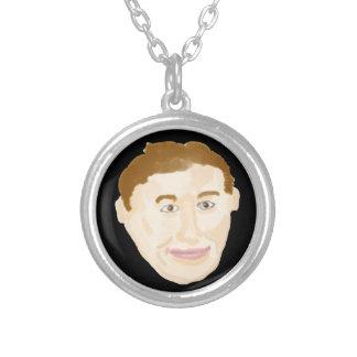 James Round Pendant Necklace