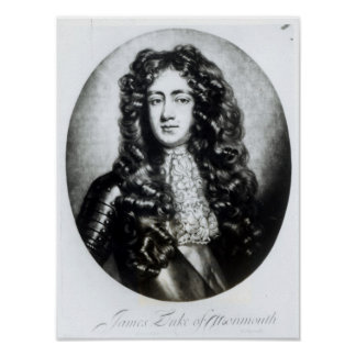 James Scott, Duke of Monmouth and Buccleuch Poster