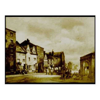 James Street, Liverpool, around 1822 Postcard