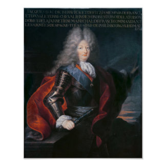 James Stuart Fitzjames  1st Duke of Berwick Poster