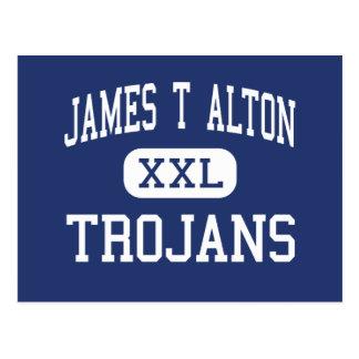 James T Alton Trojans Middle Vine Grove Postcard