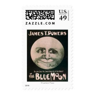 James T. Powers en el teatro de la luna azul Estampilla