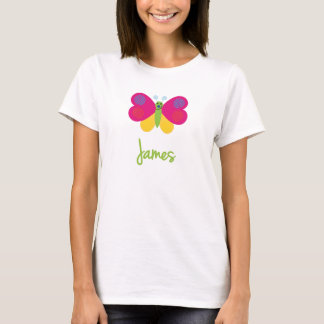 James The Butterfly T-Shirt