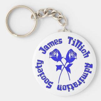 James Tillich Admiration Society Keychain