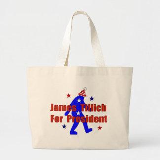 James Tillich For President Large Tote Bag