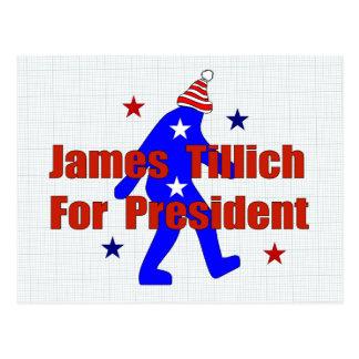 James Tillich For President Postcard