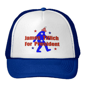 James Tillich For President Trucker Hat