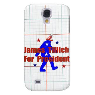 James Tillich para el presidente Funda Para Galaxy S4