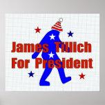 James Tillich para el presidente Impresiones